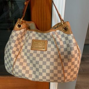 Louis Vuitton Damier Azur Galleria PM Handbag